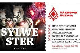Zakopane Wydarzenie Sylwester Sylwester 2019/2020 - Restauracja Gazdowo Kuźnia