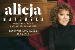 """Zakopane Wydarzenie Koncert Alicja Majewska """"Żyć się chce"""""""